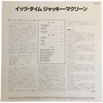 Japanese liner notes